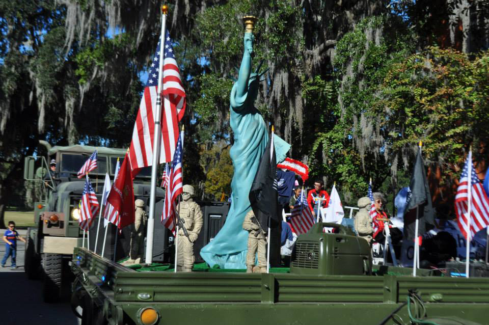 Savannah Veteran's Day Parade 2015