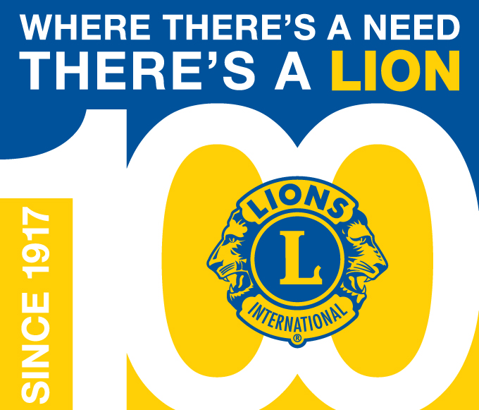 Lions Clubs International Centennial Logo
